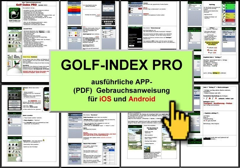 GOLF-INDEX.eu (PRO Version)