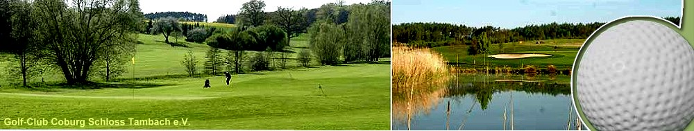 Golf-Club Coburg e.V. Schloß Tambach