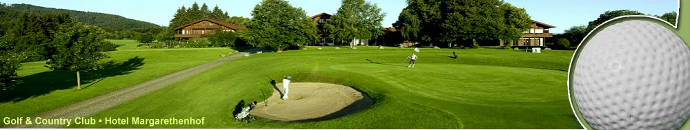 Golf & Country Club • Hotel Margarethenhof