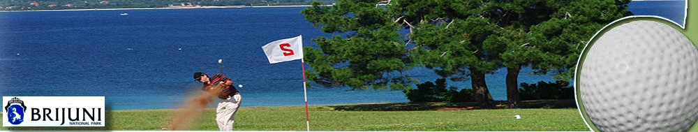 Golfplatz Brijuni / Insel Brijuni